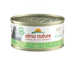 "Almo Nature Низкокалорийные консервы  ""Курица с алоэ"" (HFC Adult Cat Chicken with aloe Light) 9415H"