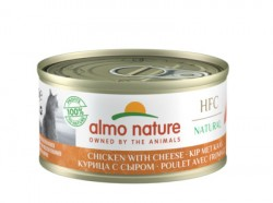 Almo Nature Консервы  с Курицей и Сыром 75% (Legend HFC Adult Cat Chicken&Cheese) 9083H