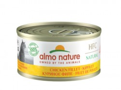 "Almo Nature Консервы  ""Куриное филе"" 75% мяса (Legend HFC Adult Cat Chicken Fillet) 9016H"