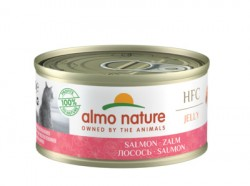 Almo Nature Консервы  с Лососем 75% мяса (Legend HFC Adult Cat Salmon) 5029H, 9029H